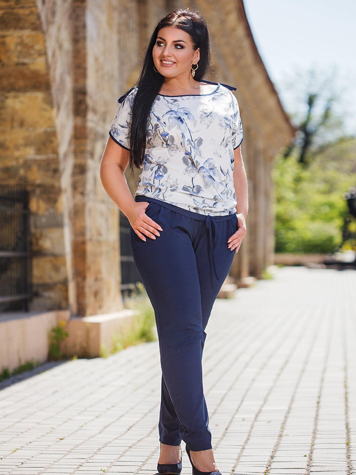 Комплект: блуза и брюки | 5564665