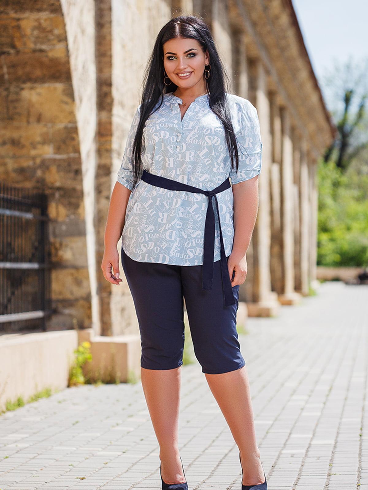 Комплект: блуза и бриджи   5564674