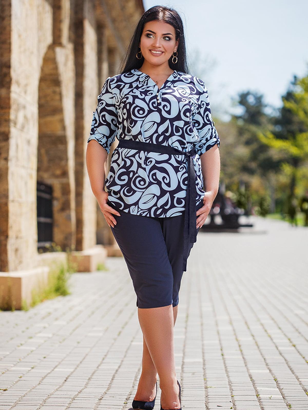 Комплект: блуза и бриджи | 5564676