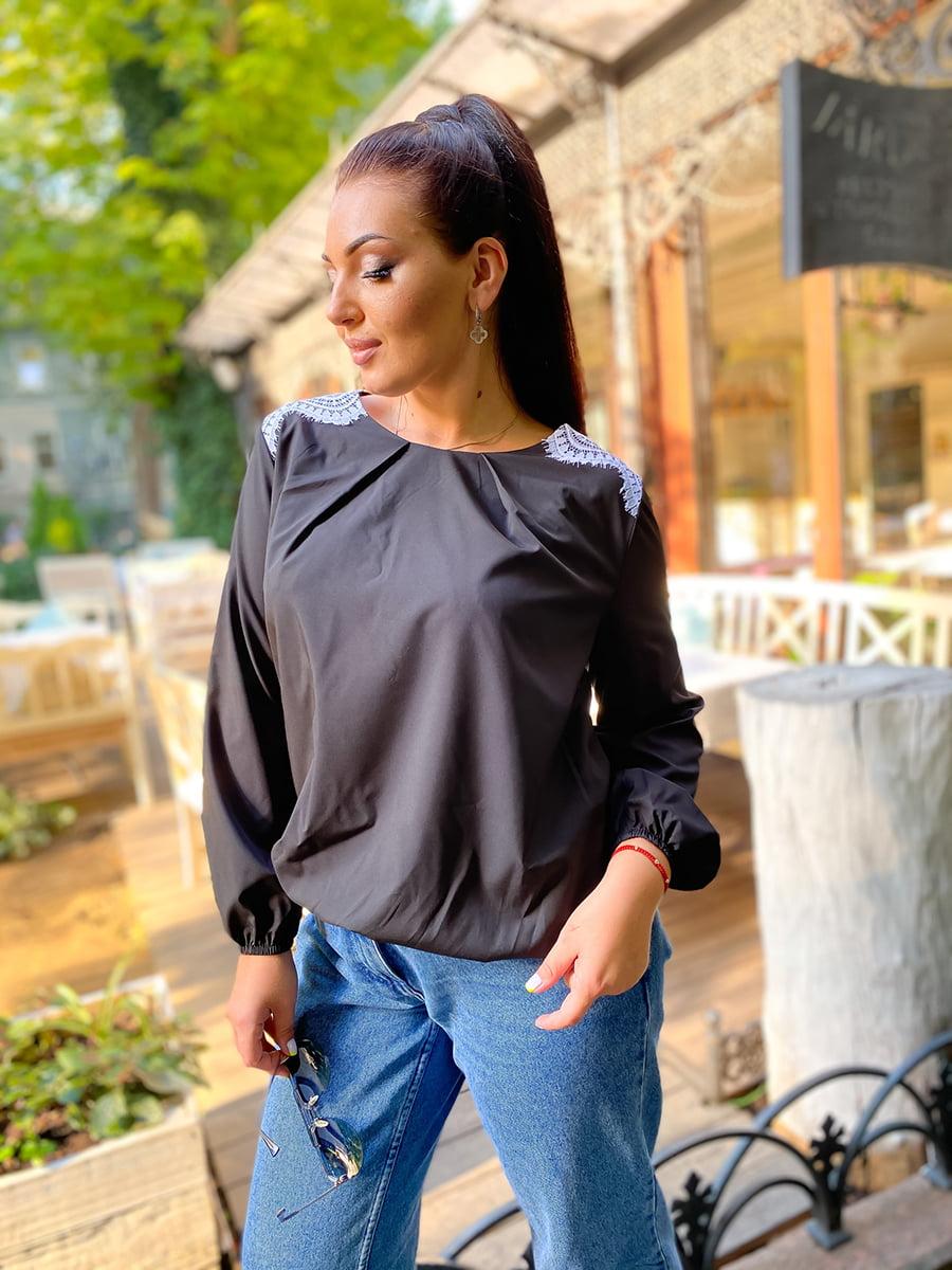 Блуза черная | 5564703
