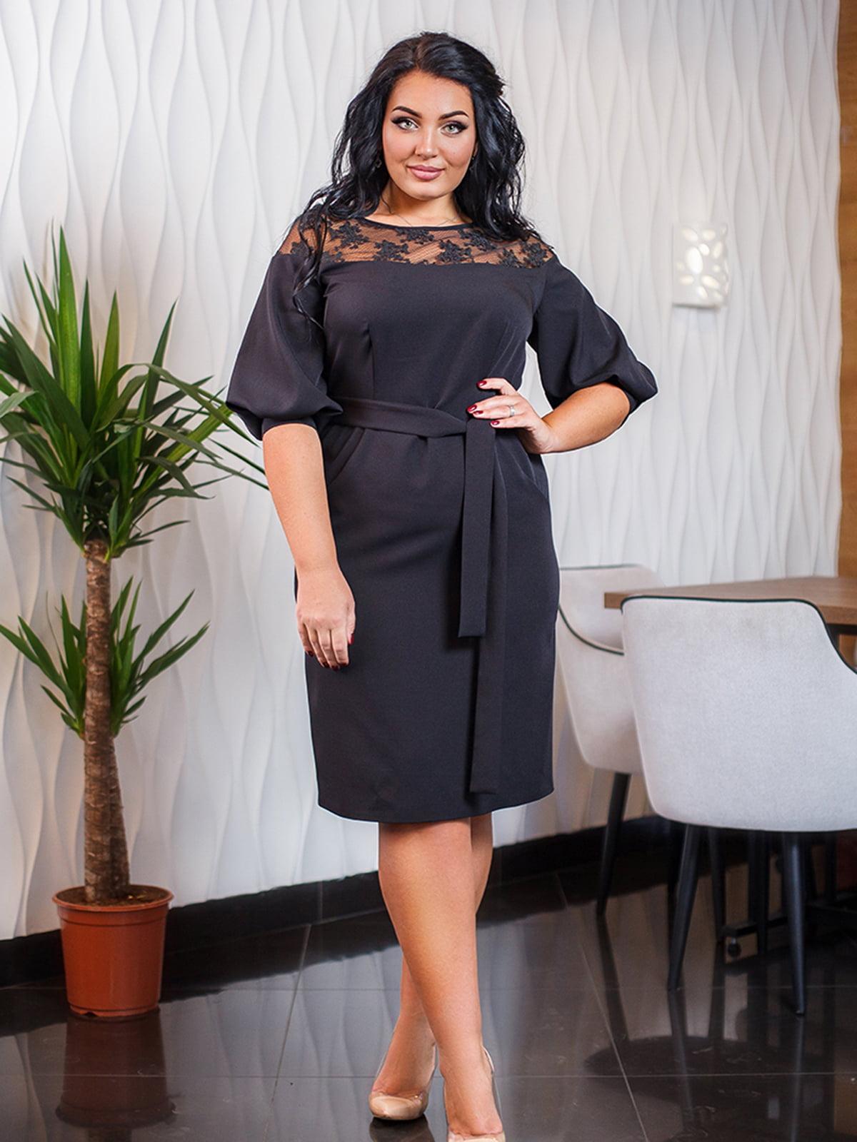 Платье черное | 5564737