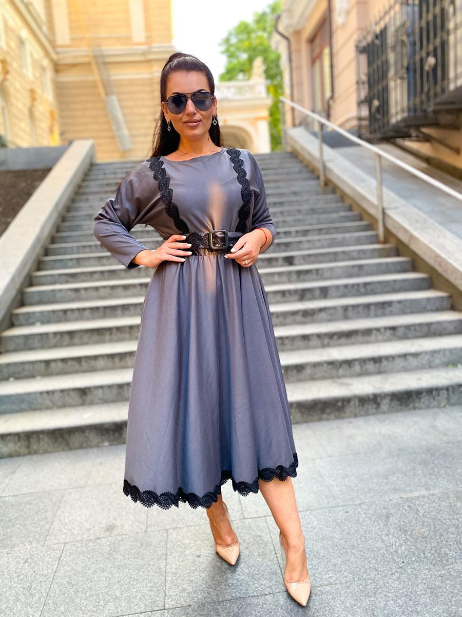 Сукня сіра | 5564751