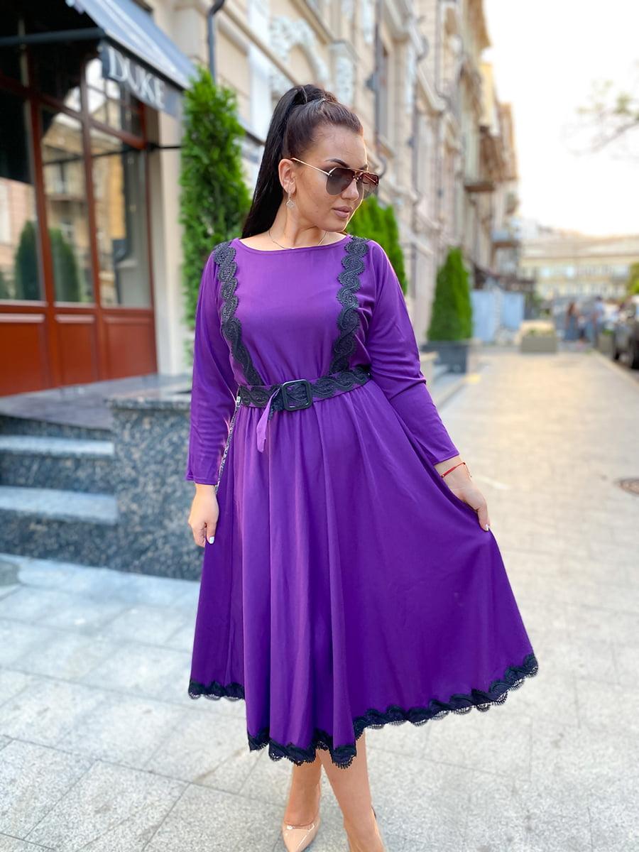 Платье фиолетовое | 5564752