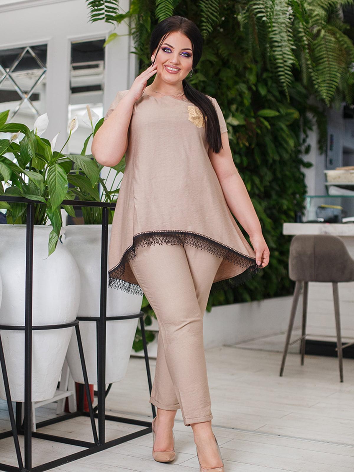 Костюм: блуза и брюки | 5564772