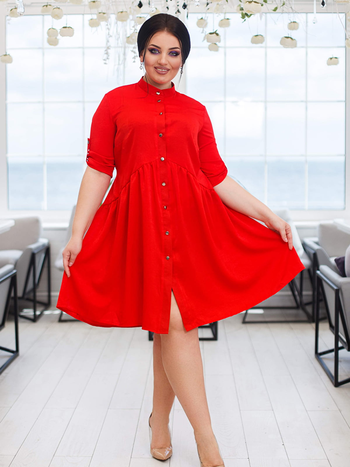 Платье красное   5564804