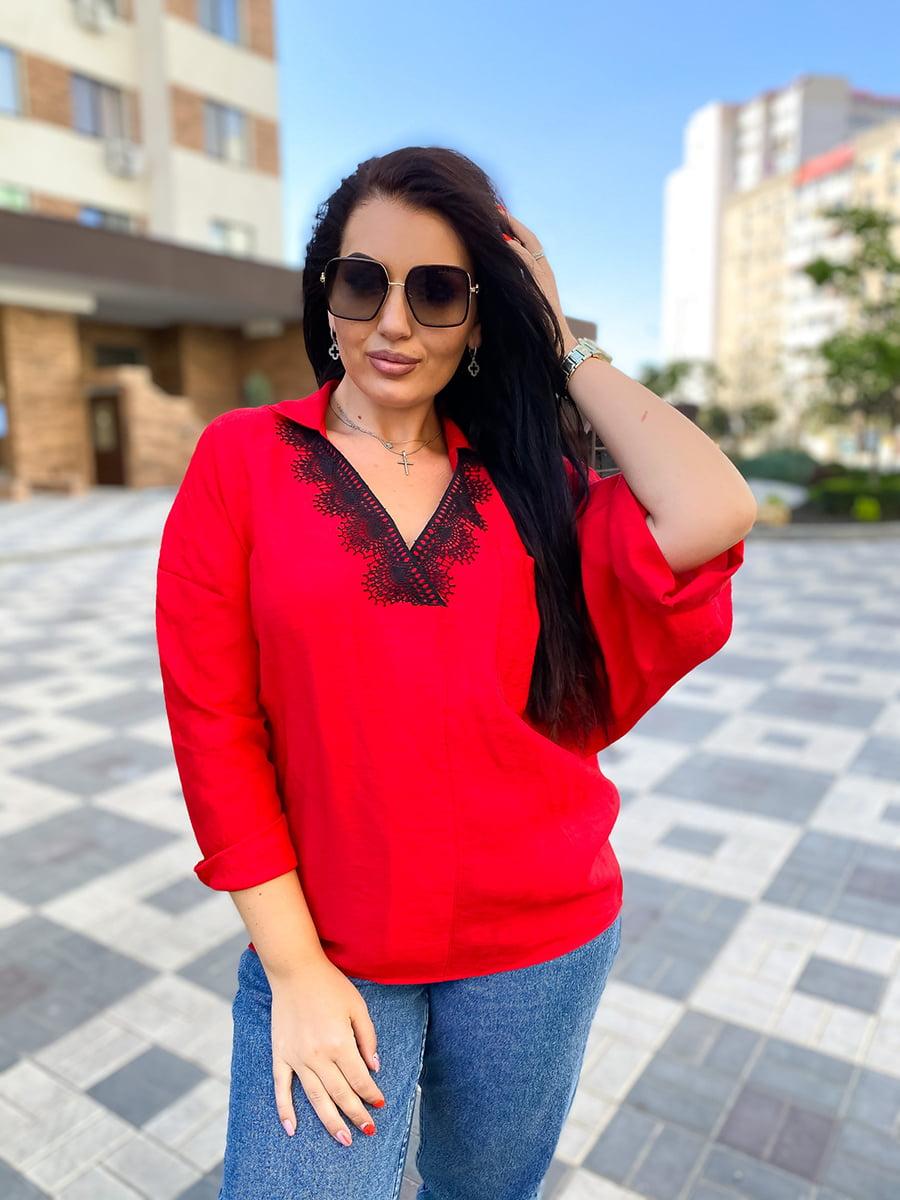 Блуза красная | 5564828