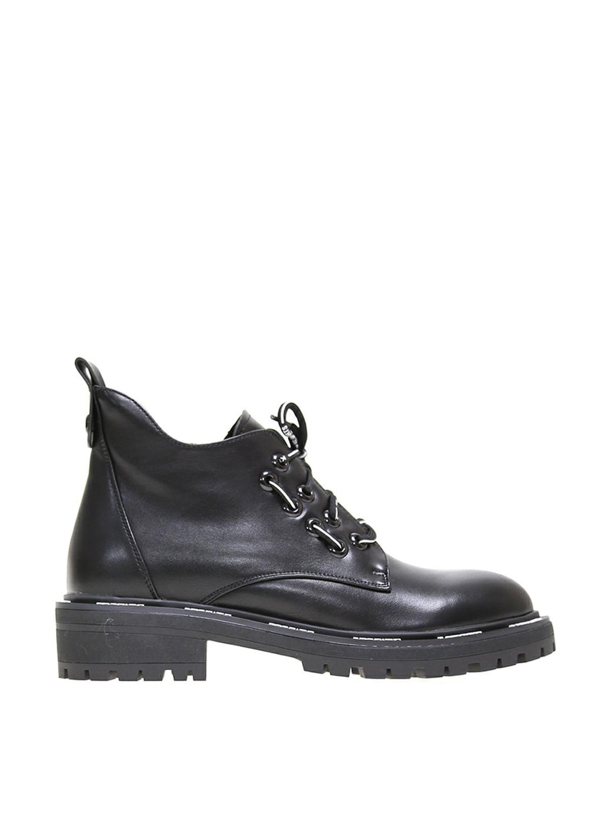 Ботинки черные   5563574