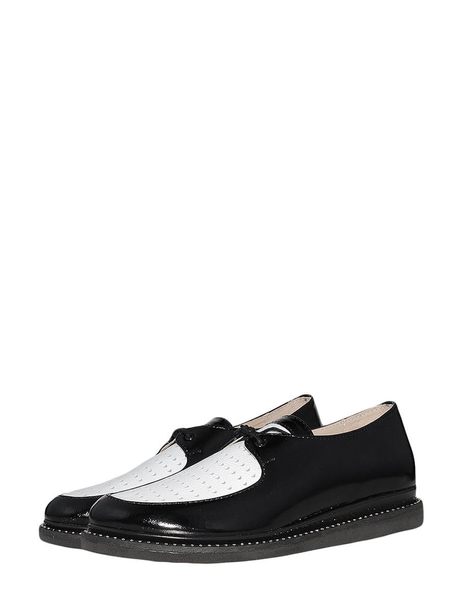 Туфлі чорно-білі | 5537047