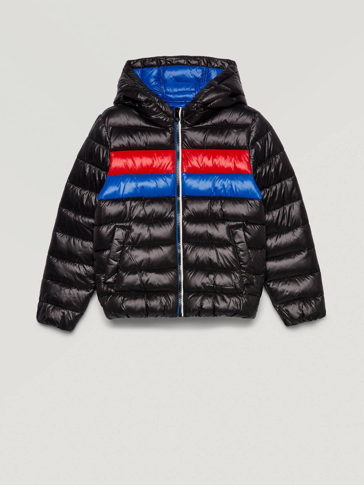 Куртка трехцветная с полосками | 5569240