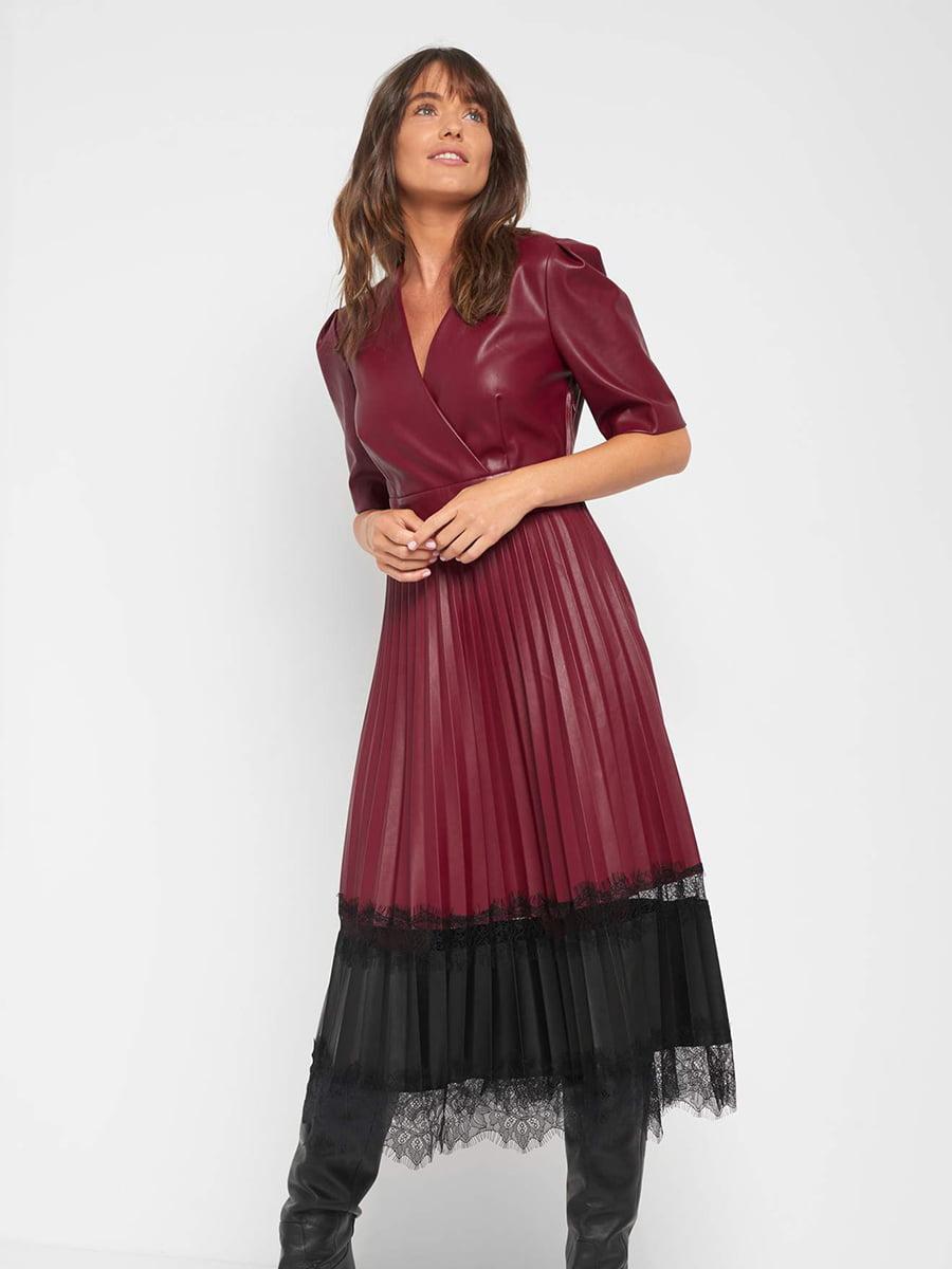 Платье двухцветное | 5569577