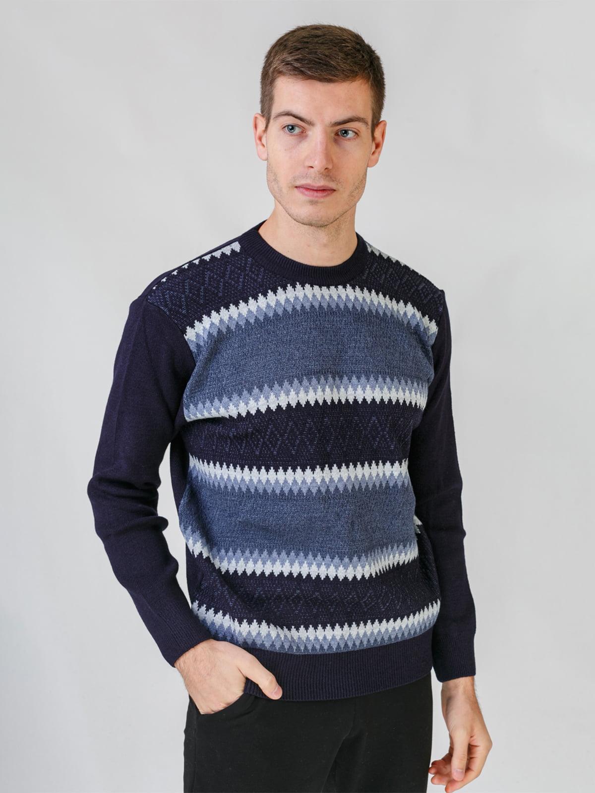 Джемпер темно-синій | 5559529