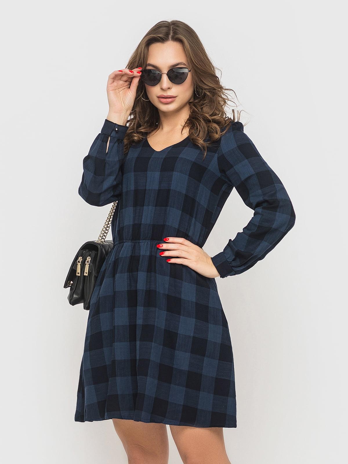 Платье темно-синее | 5570992
