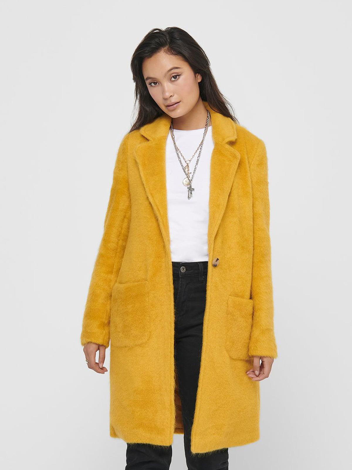 Пальто желтое | 5569732