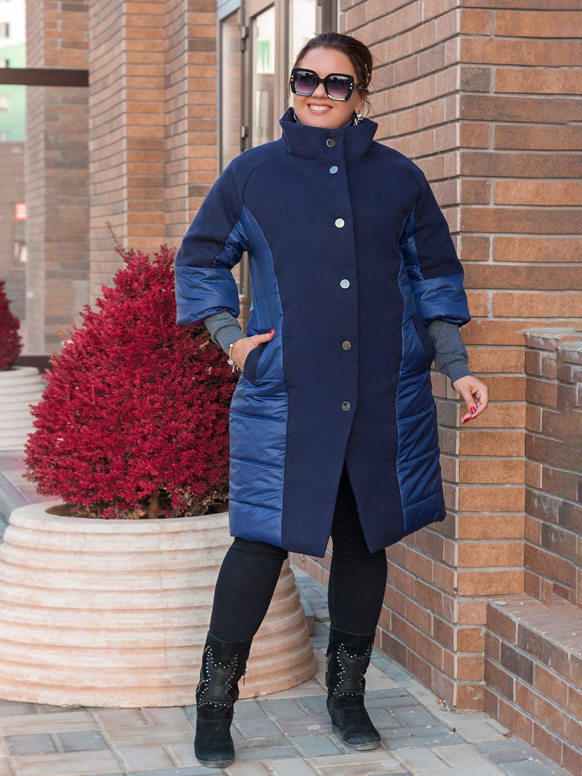 Пальто синє  | 5574018