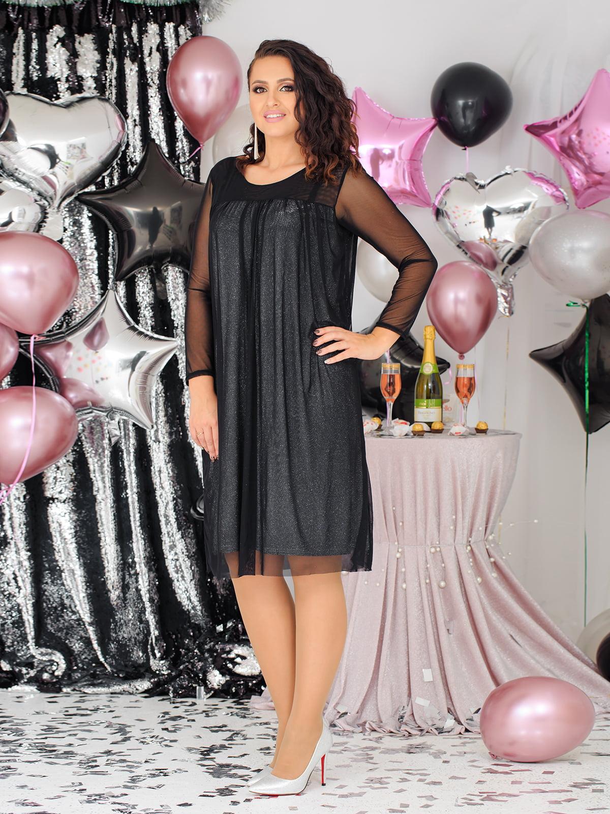 Платье комбинированной расцветки | 5574202