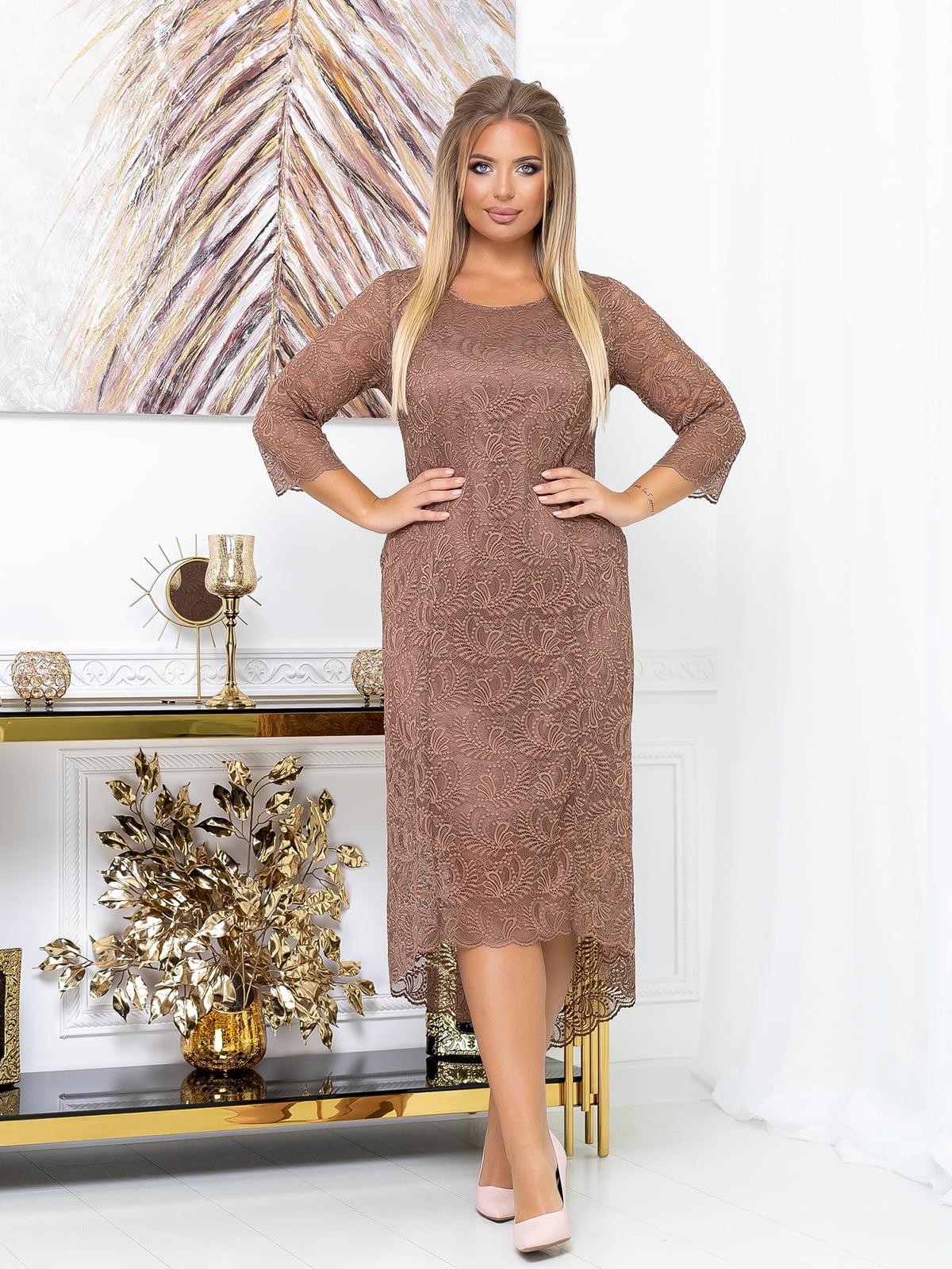 Платье цвета мокко | 5574135