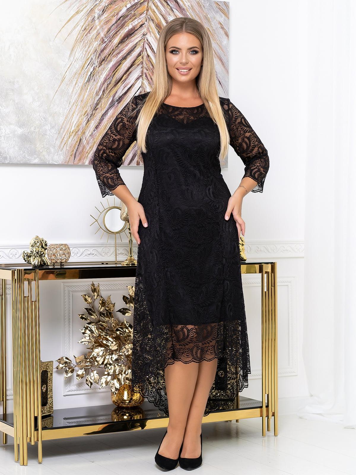 Платье черное | 5574136