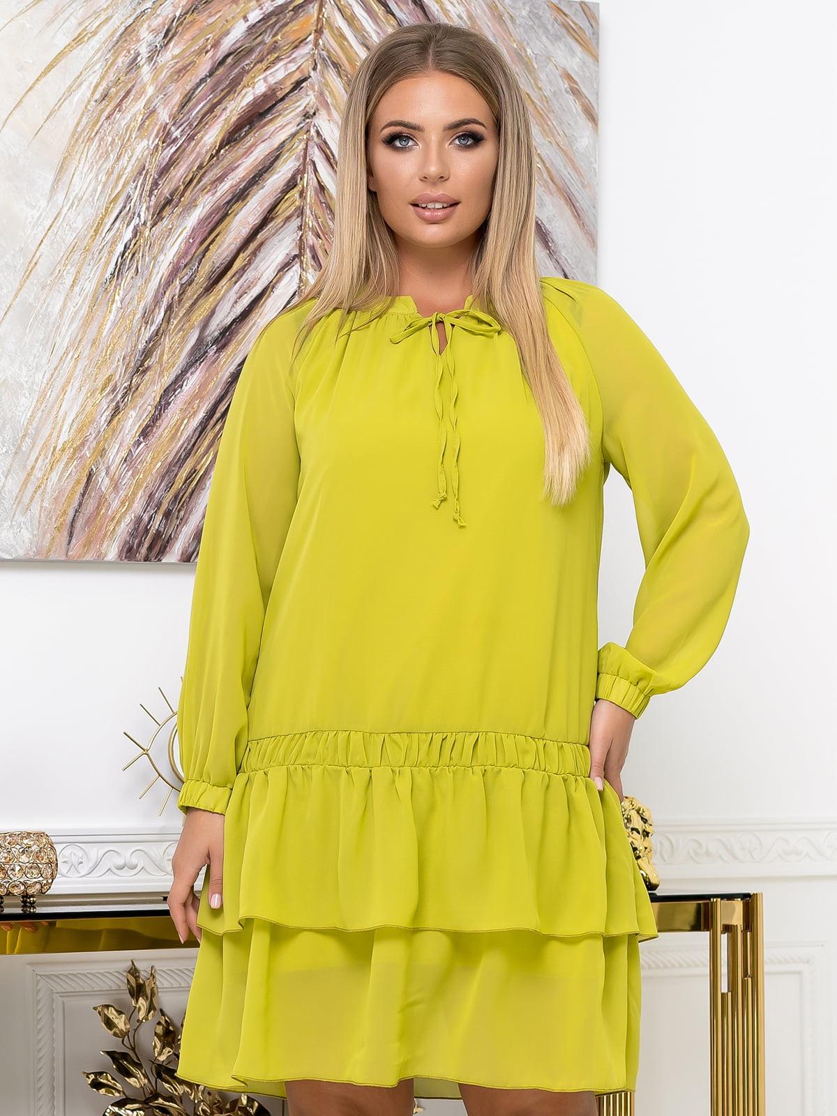 Сукня жовта | 5574137