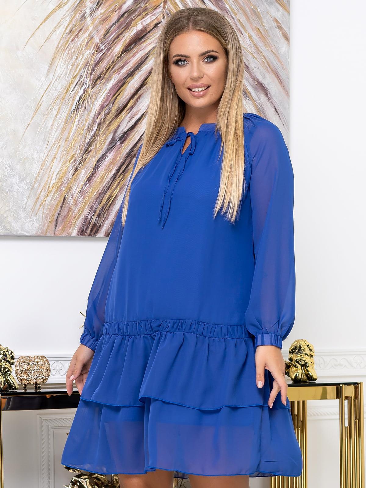 Платье синее | 5574138