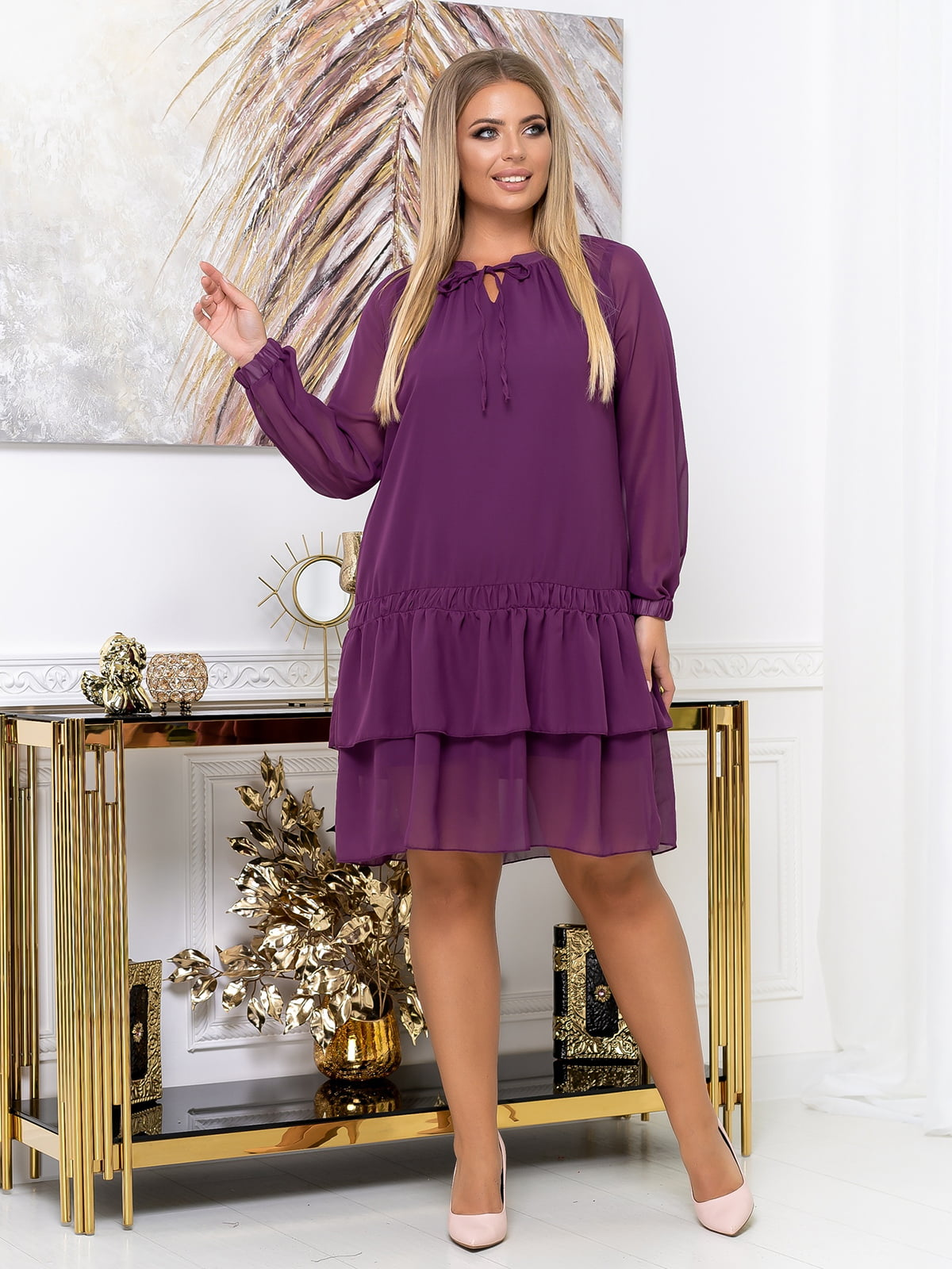 Платье цвета фуксии | 5574139