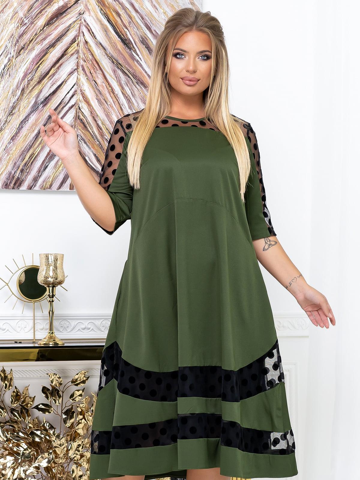 Сукня кольору хакі | 5574141