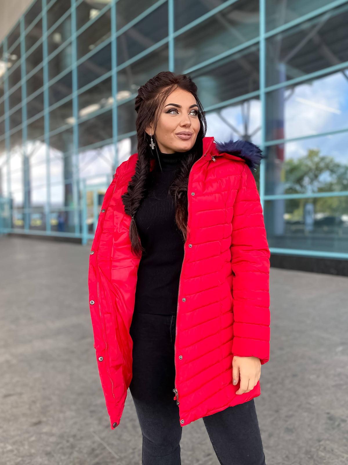Куртка красная   5573943