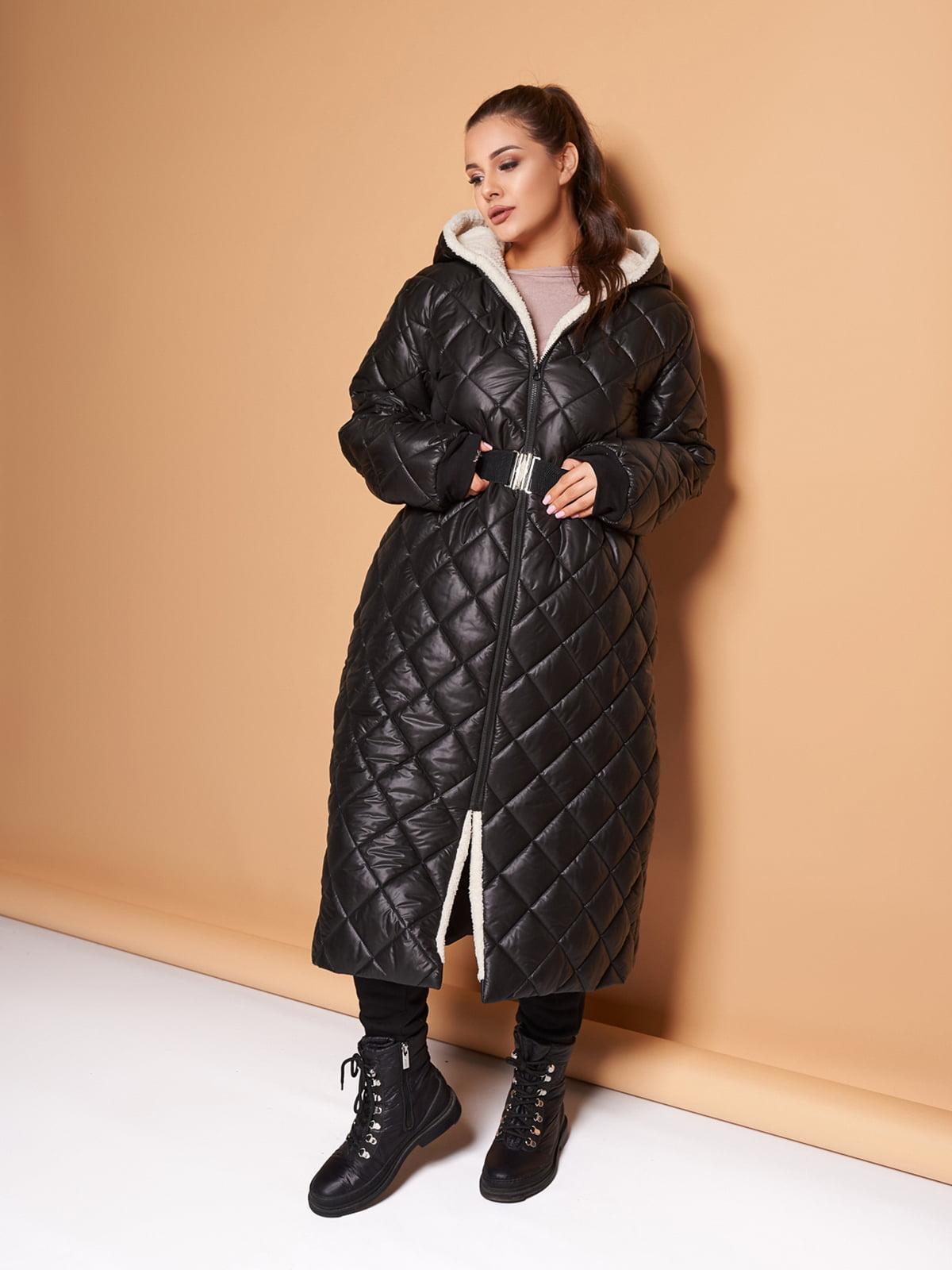 Пальто чорне | 5574071
