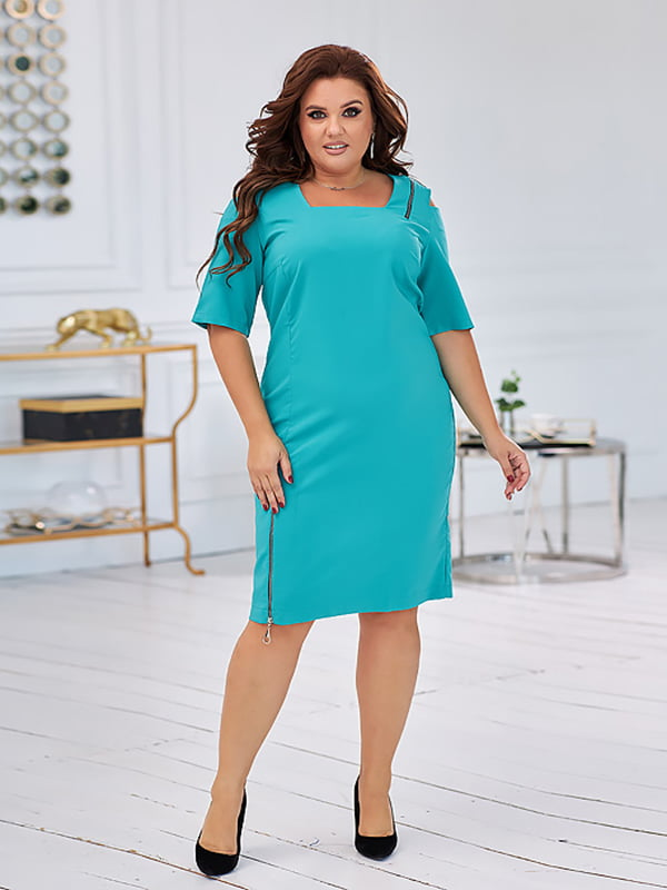 Сукня бірюзового кольору | 5574371