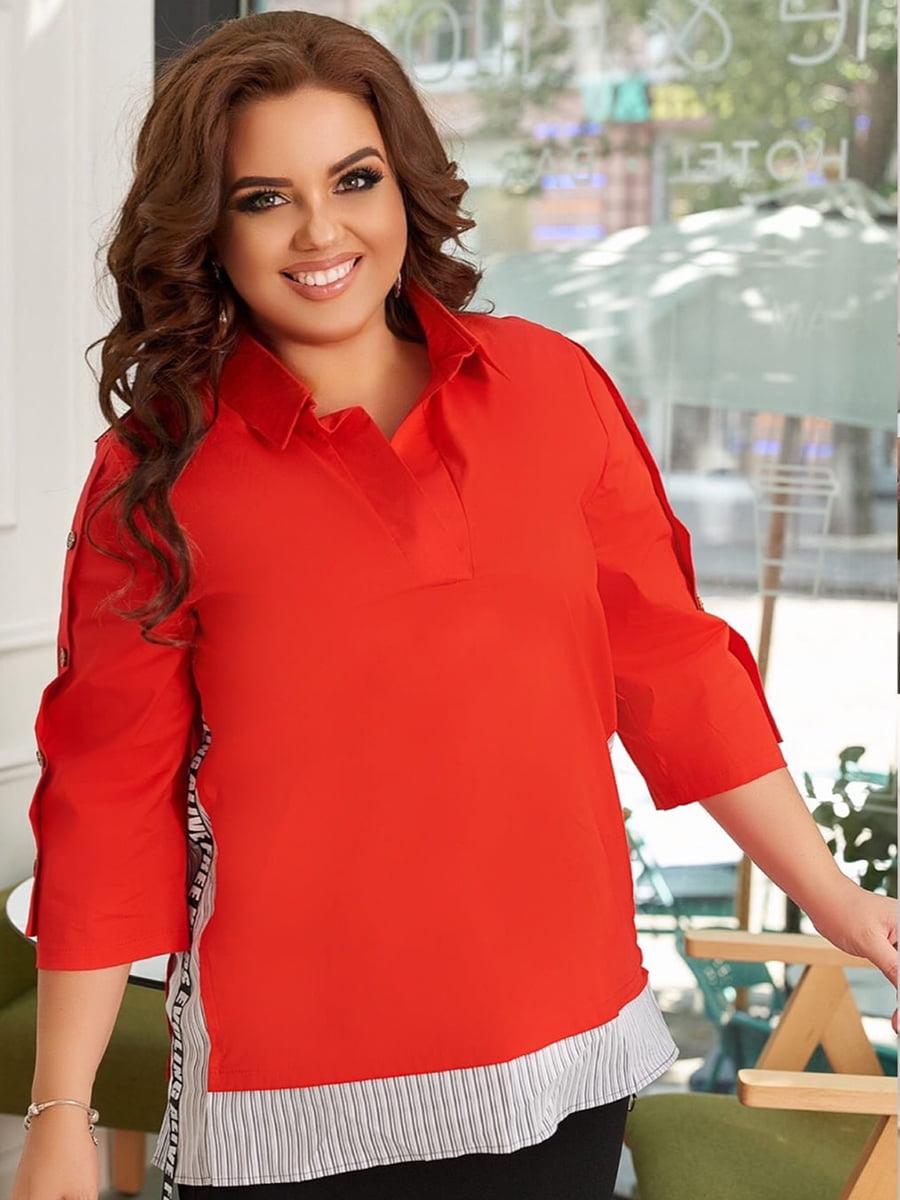 Блуза червона | 5574379