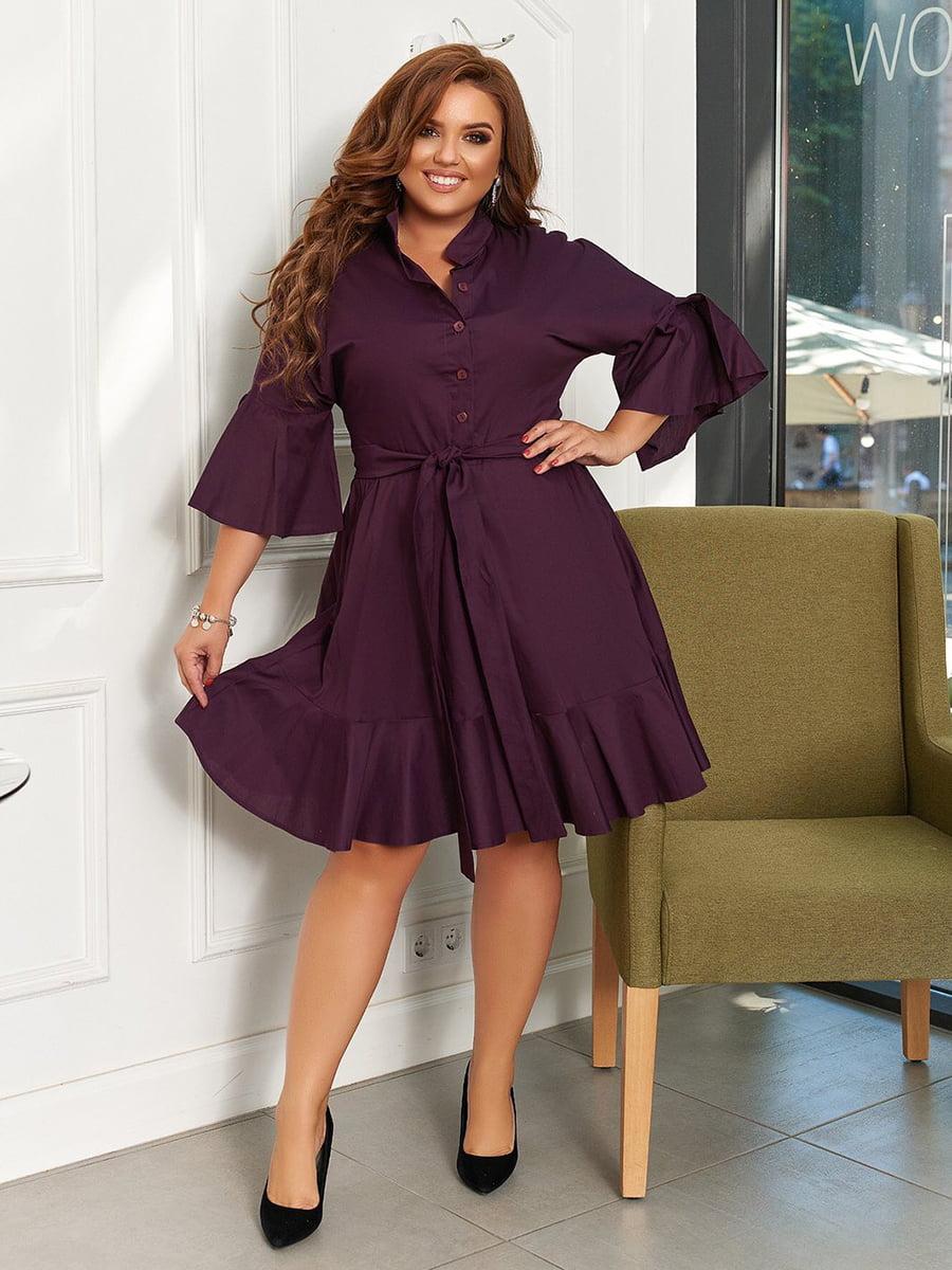 Сукня кольору марсала | 5574420