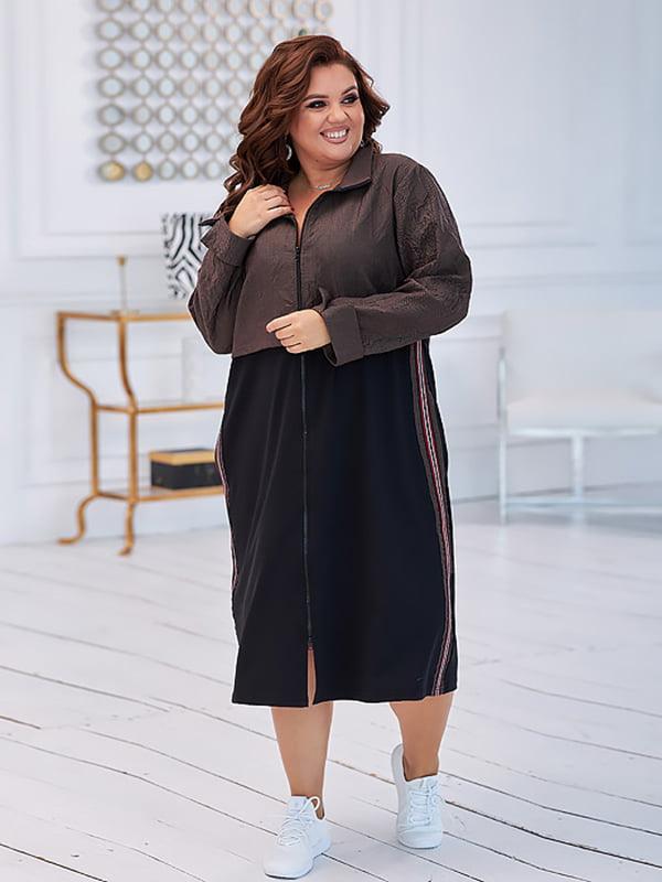 Платье коричневое   5574424