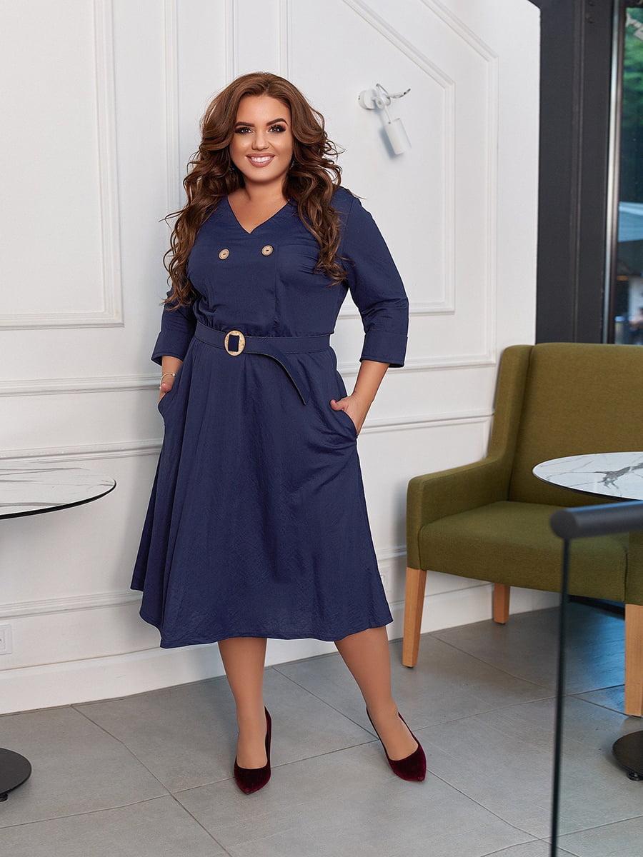 Платье синее | 5574384