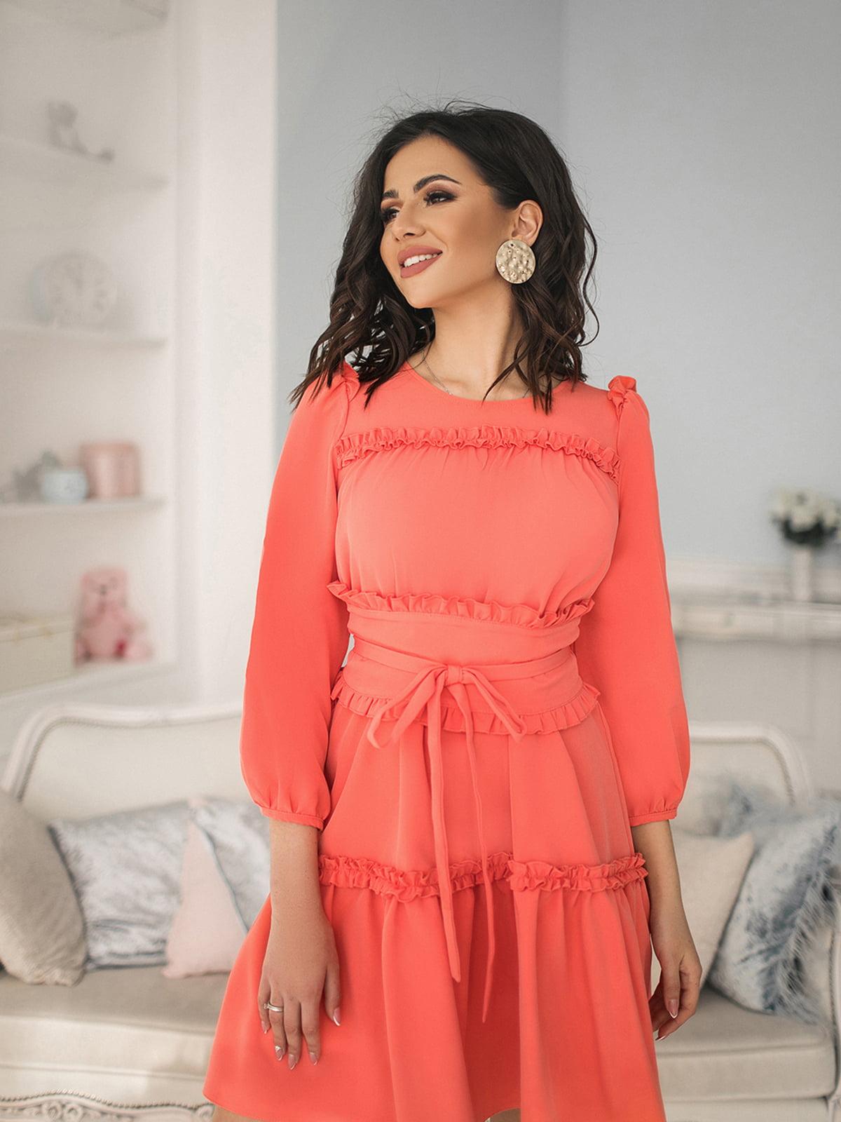 Платье персикового цвета | 5574644