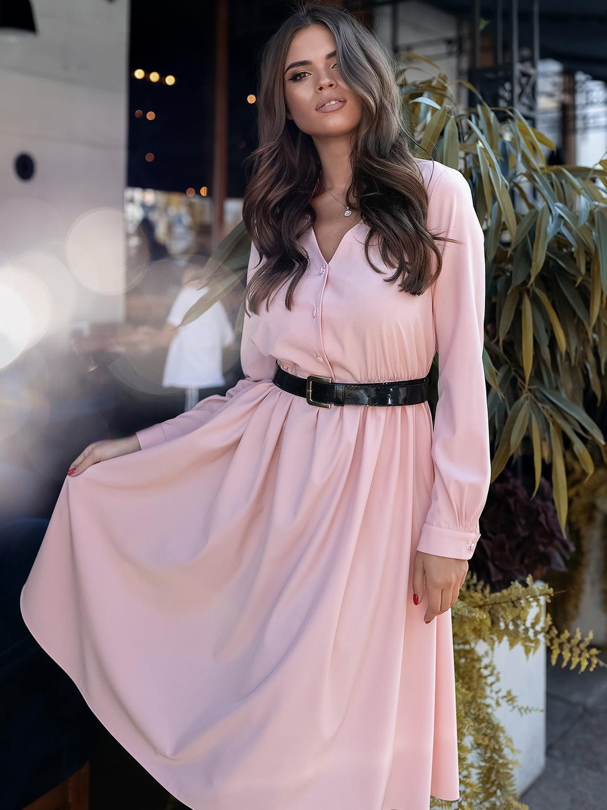Платье пудрового цвета | 5574651