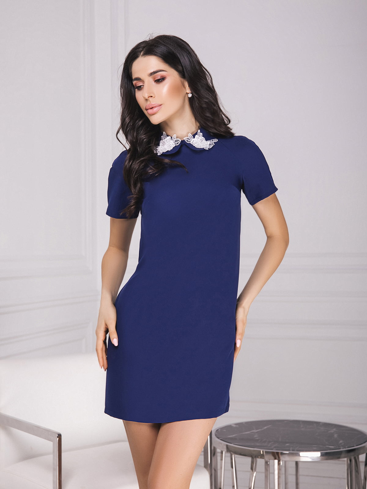 Платье темно-синее | 5574654