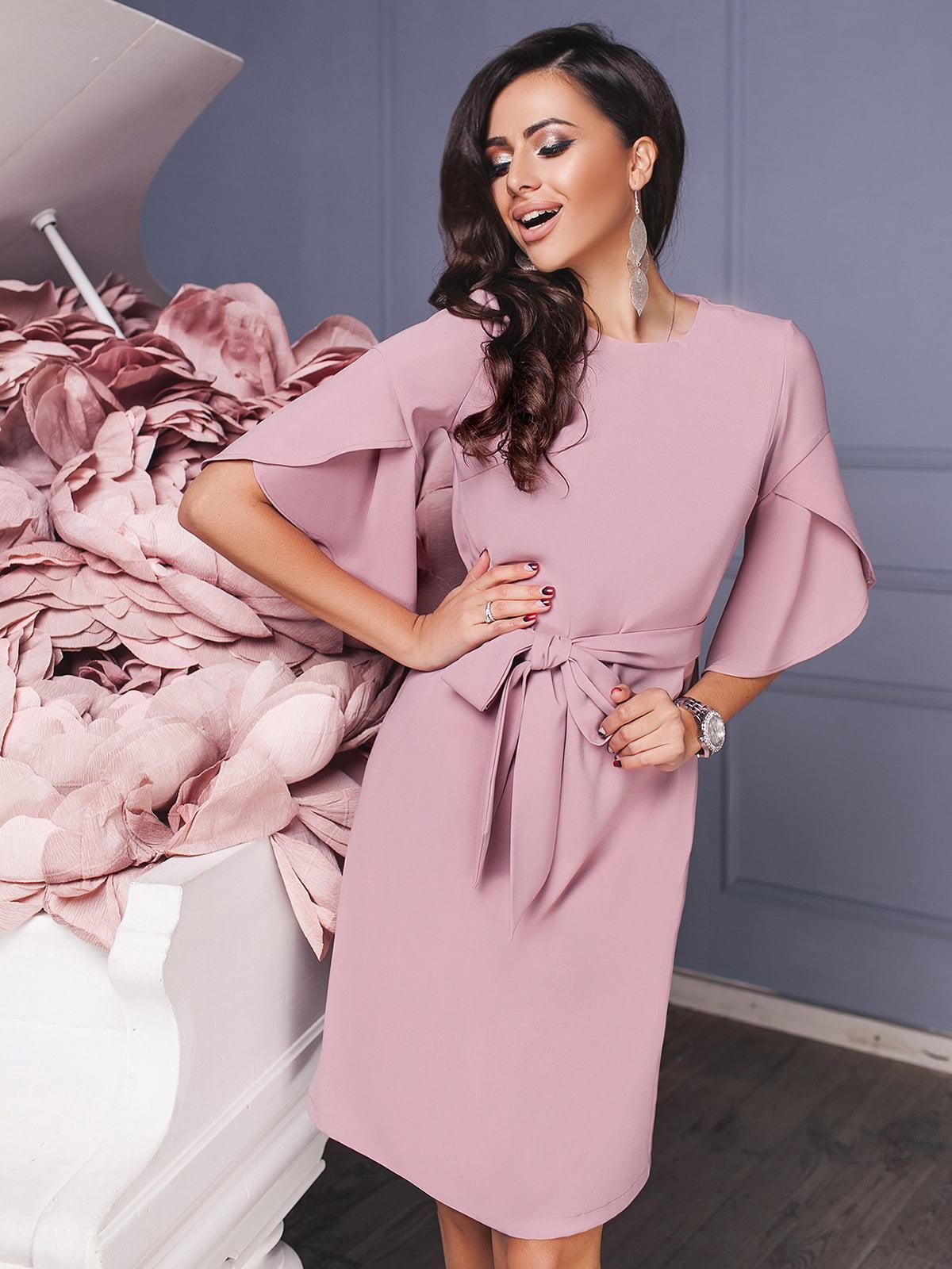 Сукня пудрового кольору  | 5574662