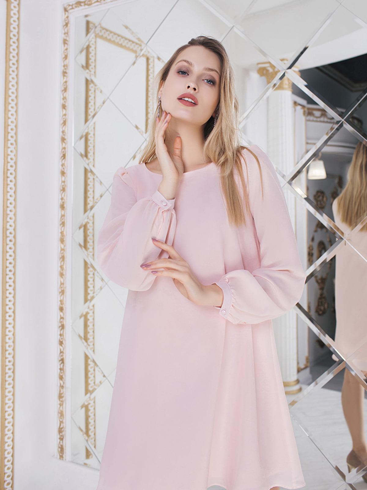 Сукня пудрового кольору  | 5574685