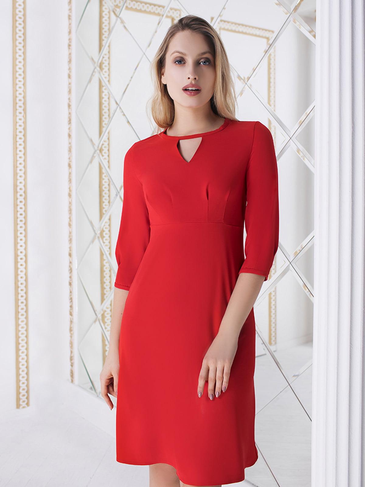 Платье красное | 5574703