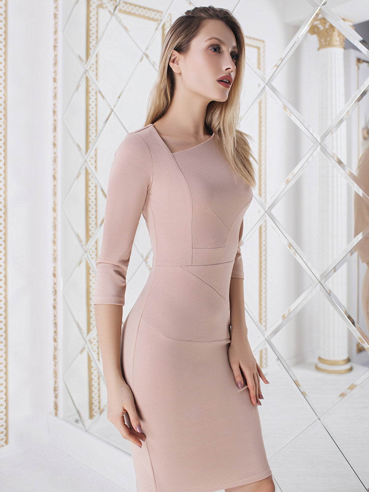 Платье бежевое | 5574707