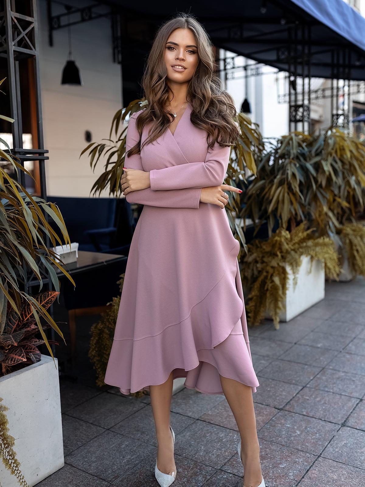 Сукня бузкового кольору | 5574723