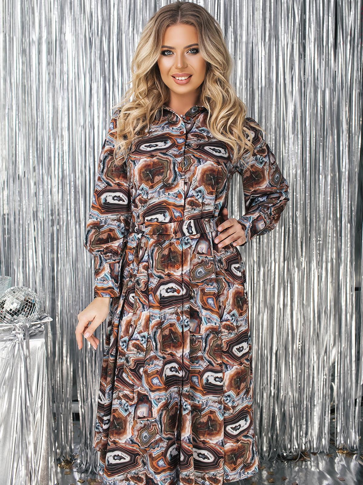 Платье в принт | 5574754