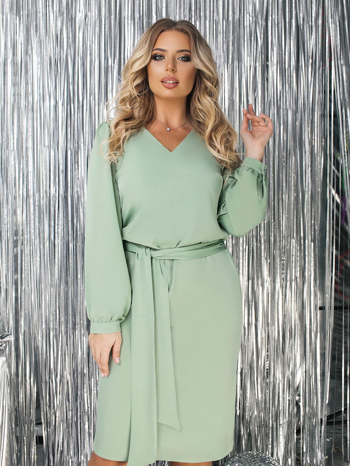 Сукня оливкового кольору | 5574756