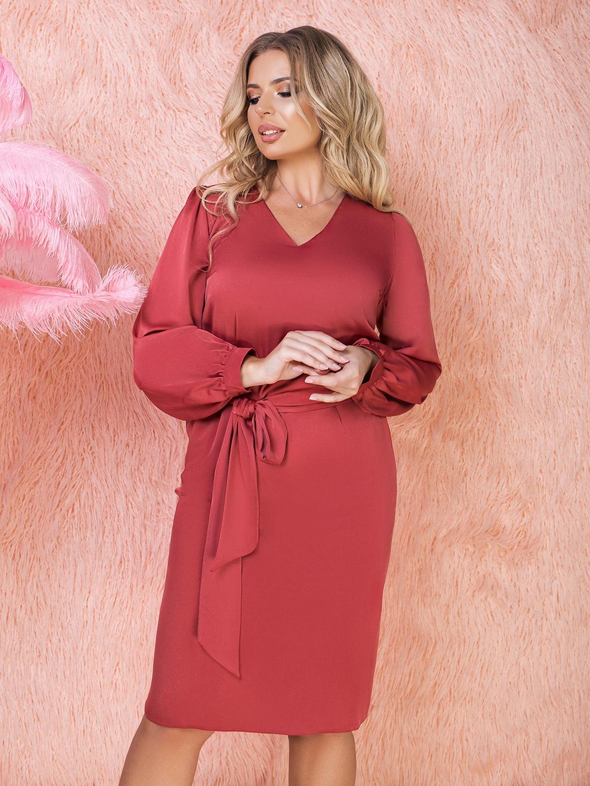 Платье терракотового цвета | 5574759