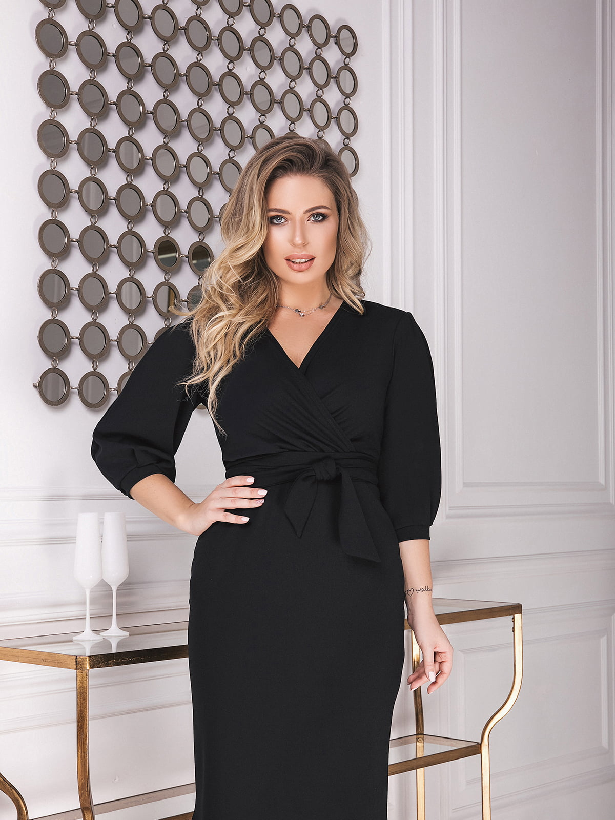 Платье черное | 5574770