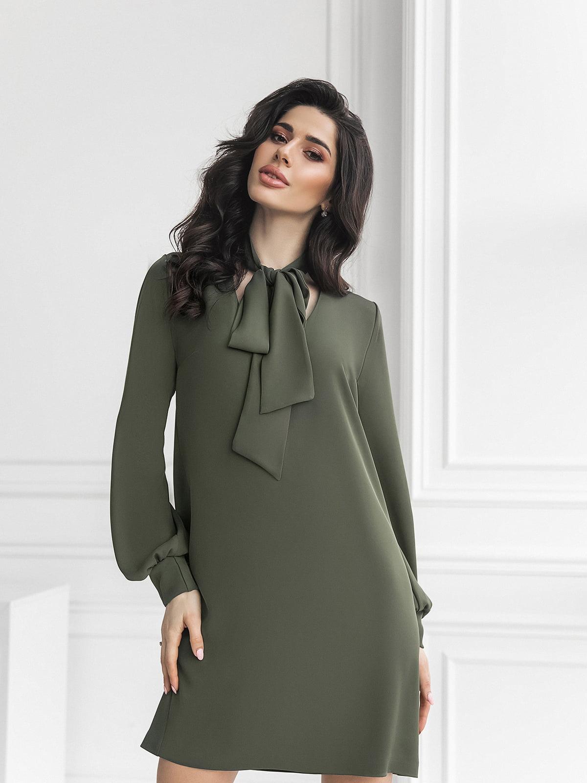 Сукня кольору хакі | 5574773