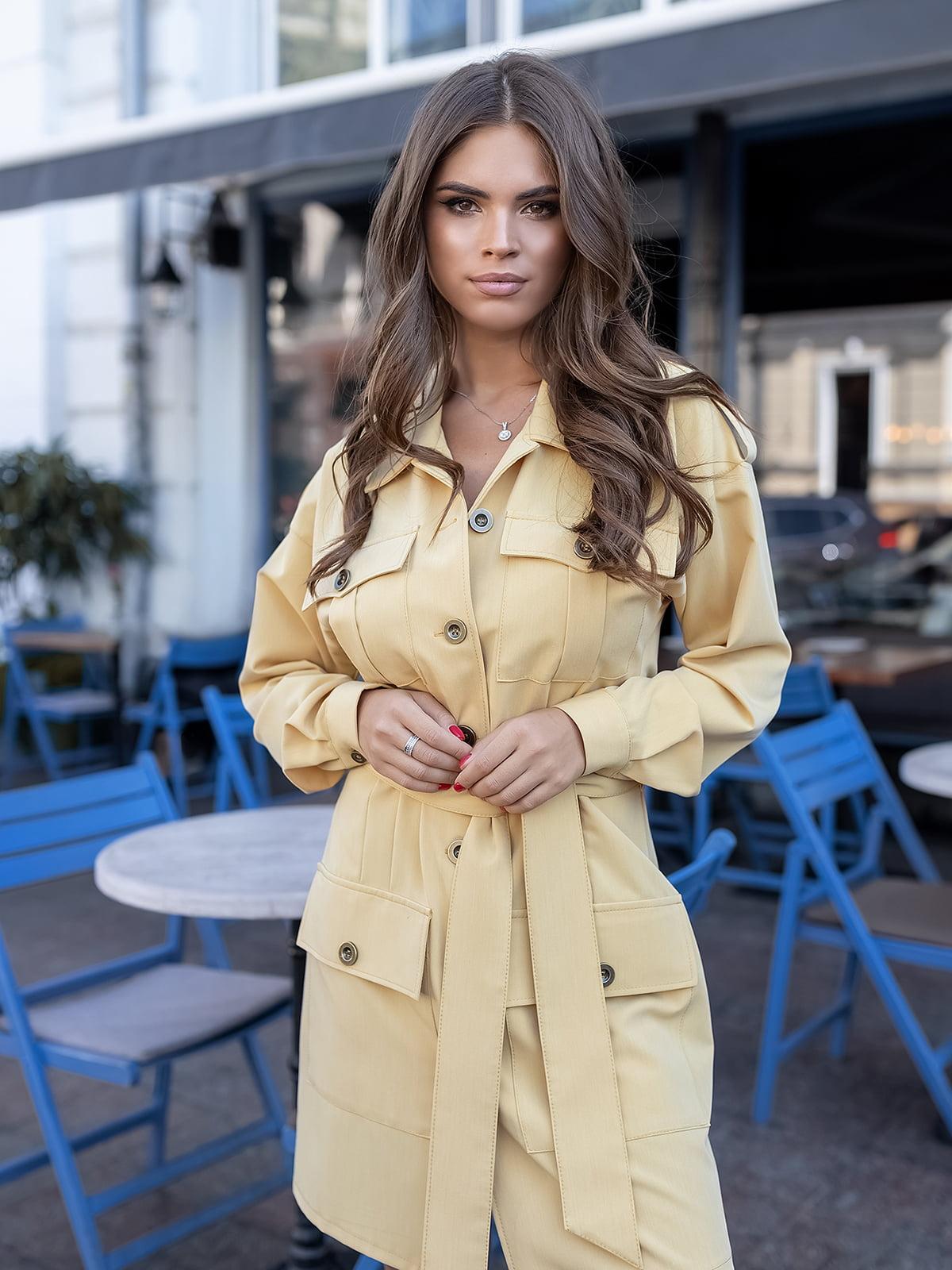 Платье желтое | 5574834