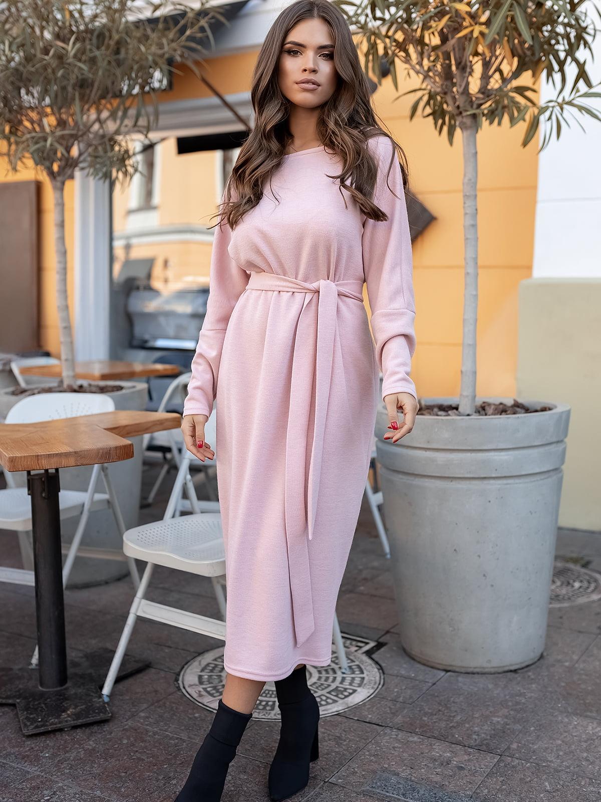 Платье пудрового цвета | 5574855
