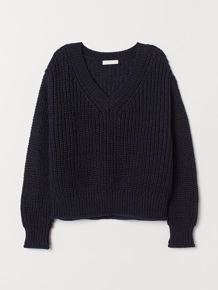 Пуловер синий | 5527430