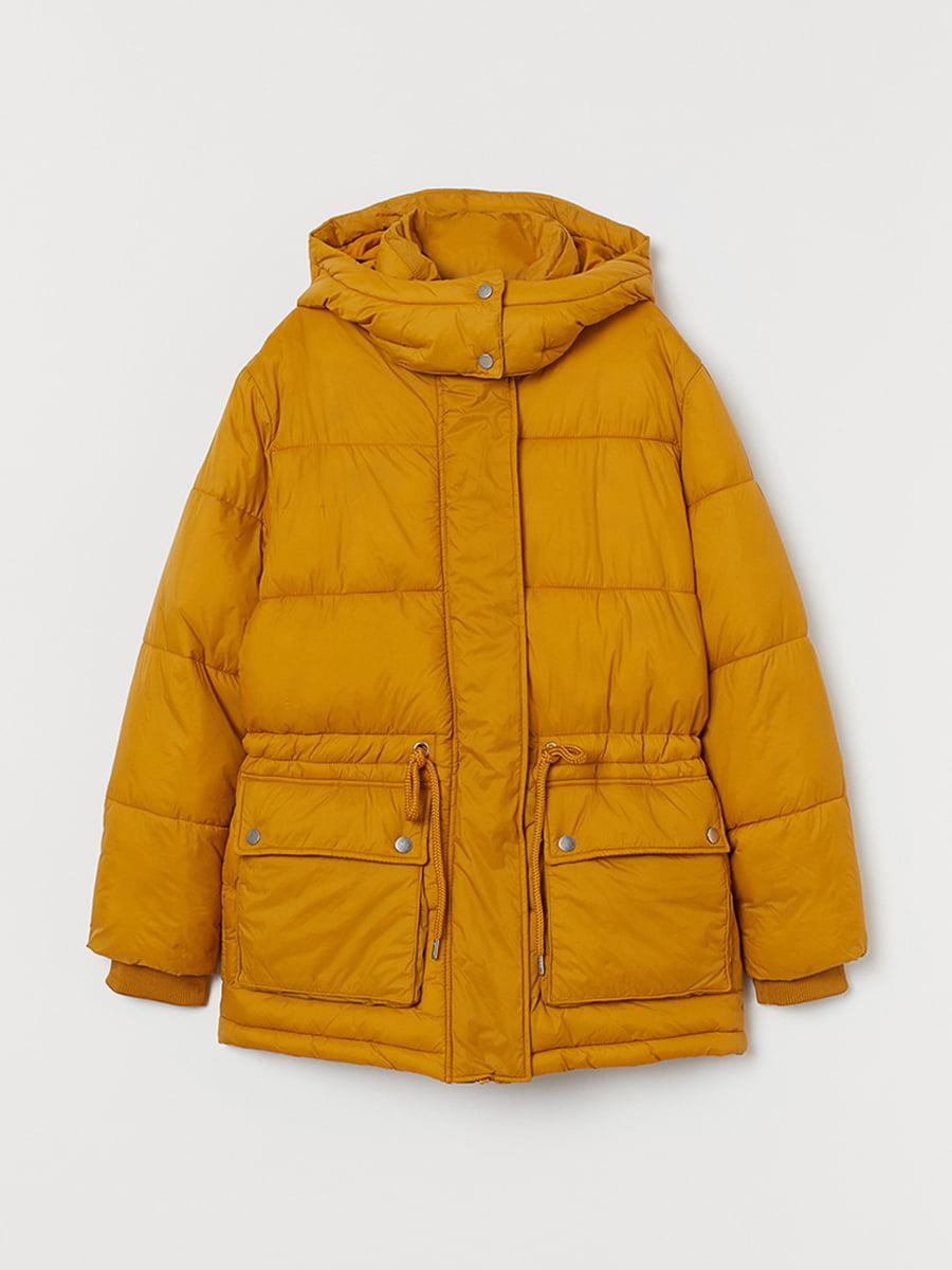 Куртка горчичного цвета | 5531806