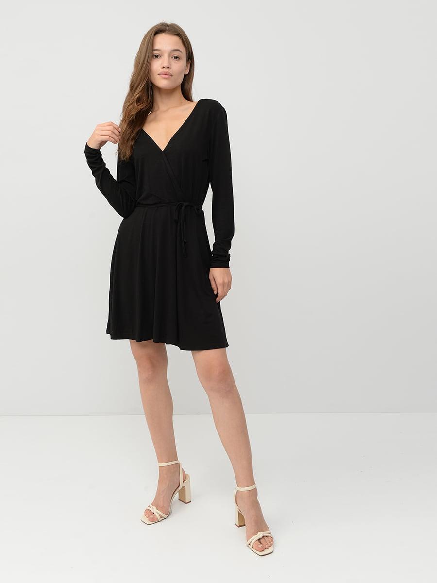 Платье черное   5551369